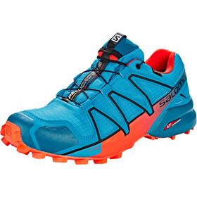 Salomon M's Speedcross 4 GTX Shoes Fjord Blue/Cherry Tomato/Black